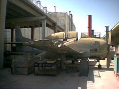 Derelict Royal Saudi Air Force T-28A Trojan at King Abdulaziz University, Jeddah, one of four acquired in the 1950s