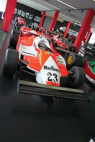 The Alfa Romeo 179B which was used during 1981.