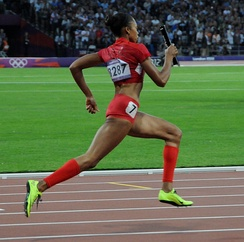 Allyson Felix, at London 2012 Summer Olympics