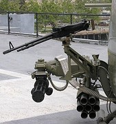 Typical armament for UH-1 helicopter gunship.