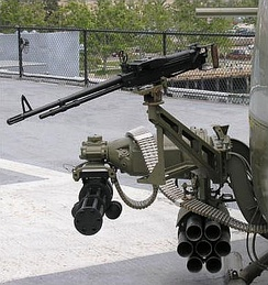 Typical armament for UH-1 gunship