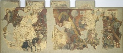 The panel depicting the Battle of Porto Pi