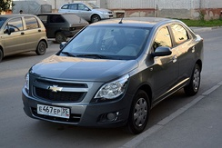 Chevrolet Cobalt for Brazilian, Russian and other markets.