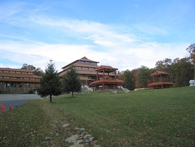 The Chuang Yen Monastery (莊嚴寺), in Kent, houses the largest indoor statue of Buddha in the Western Hemisphere.[56]