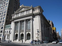 The Spanish and Portuguese Synagogue, Congregation Shearith Israel, is the oldest Jewish congregation in the U.S. (est. 1654)