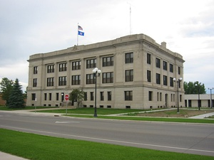 Historic Crow Wing County courthouse