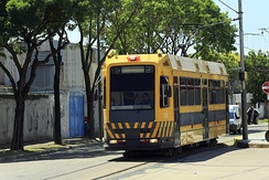PreMetro line E2 is a tram network that has operated in Buenos Aires since 1987.