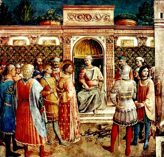 The trial of Saint Lawrence