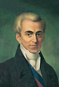 Count Ioannis Kapodistrias, first governor and founder of the modern Greek State