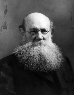 Manifesto co-author Peter Kropotkin (1842 – 1921), whose anti-German sentiment informed much of its content.