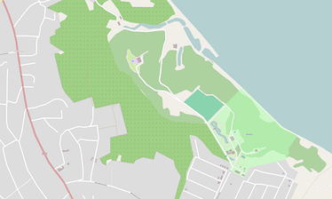 Map rendering of Yanukovych's private Mezhyhirya residence.