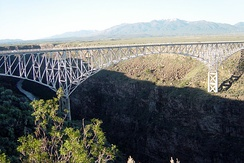 The Rio Grande Gorge Bridge