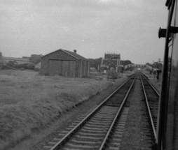 North Tawton station in 1969