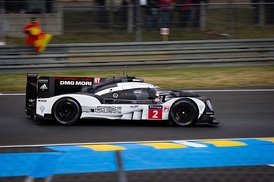 Neel Jani took the second successive pole position for the No. 2 Porsche 919 Hybrid at Le Mans in the opening ten minutes of the first qualifying session as rain affected the next day's two qualifying sessions.