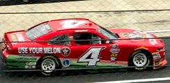 Chastain during practice at Dover in October 2018
