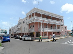 Government headquarters of Saint Kitts and Nevis