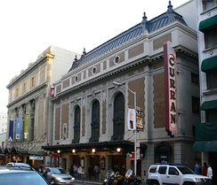 The Curran Theatre in San Francisco, where Wicked made its debut