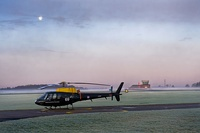 Squirrel Helicopter at RAF Shawbury