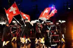 Top Secret Drum Corps at the 2009 Basel Tattoo