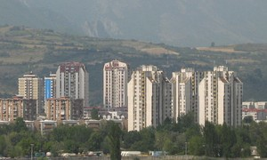 Highrise housing in Karpoš.