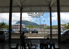 Vance W. Amory International Airport on Nevis