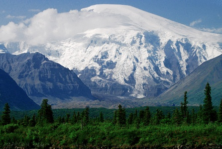 Mount Sanford in Alaska is the third highest volcano in the United States.