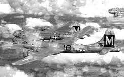 19th Bombardment Group B-29 Superfortresses 1945