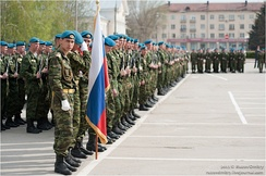 3rd Spetsnaz Brigade on parade