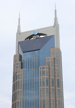 AT&T Building, the tallest building in Tennessee
