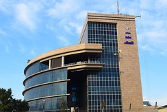 Al-Ma'mun's Telecommunication Center in downtown Baghdad