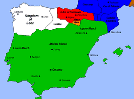 The Caliphate of Córdoba in the early 10th century
