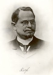 Alois Riegl around 1890