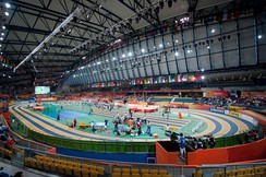 The Aspire Dome during the 2010 World Indoor Championships