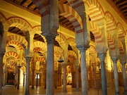 Prayer Hall of the Mosque–Cathedral of Córdoba, Spain