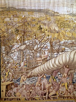 Emperor Charles V captured Tunis in 1535, liberating 20,000 Christian slaves