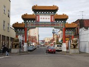 Gate of Chinatown, Portland, Oregon