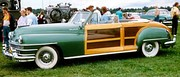 1948 Chrysler Town and Country, a convertible woodie