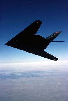 F-117 stealth attack plane