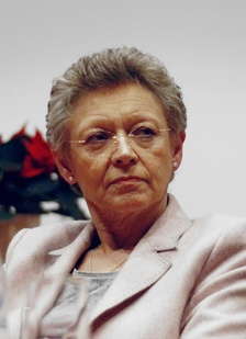 Françoise Barré-Sinoussi, co-discoverer of HIV