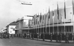 The venue in 1955