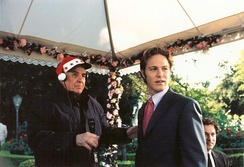Marshall and Jonny Blu on the set of The Princess Diaries 2: Royal Engagement in 2004