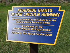 Roadside Giants of the Lincoln Highway.