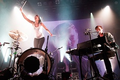 2012 performance by Matt and Kim at the House of Blues in New Orleans, LA.