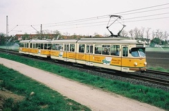Tramway from the 60's in regular service