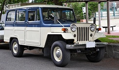 Mitsubishi Jeep Delivery Wagon J37