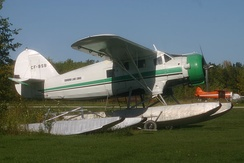 "Noorduyn Norseman ""CF–BSB"" still operating in 2006, Edmund Lakes Lodge, Manitoba."