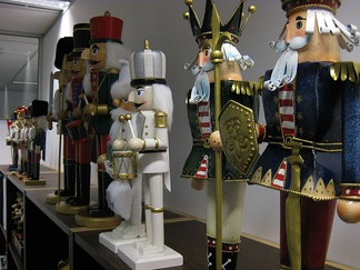A collection of nutcrackers