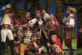 Opera Australia's 2007 touring production of Pirates, with Anthony Warlow as the Pirate King