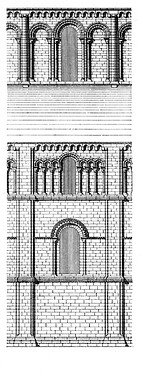 Exterior elevation, Peterborough Cathedral