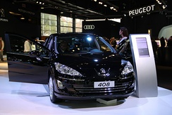 Peugeot 408 Sport at 2011 Buenos Aires Motor Show